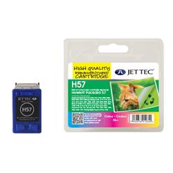 Jet Tec HP Compatible HP57/C6657AE (3x8ml) Remanufactured Colour Ink Cartridge