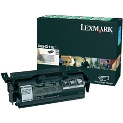 Lexmark Laser Toner Cartridge Return Program Extra High Yield Page Life 36000pp Black Ref X654X11E