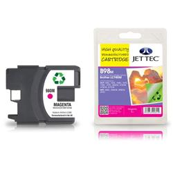 Jet Tec Brother Compatible LC980M (13ml) Remanufactured Inkjet Cartridge