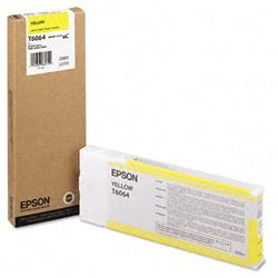 Epson T6064 Yellow Ink Cartridge for Stylus Pro 4800/4880 (220ML)