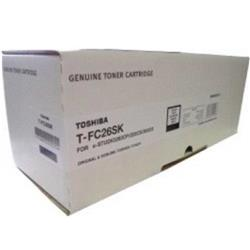 Toshiba TFC267SK Black Toner Cartridge (Yield 5,000 Pages)  for Toshiba E-Studio 222CP, Toshiba E-Studio 222CS and Toshiba E-Studio 262CP Printers