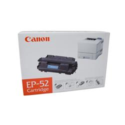 Canon EP-52 Toner Cartridge Page Yield 2500pp Black