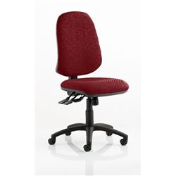 Eclipse XL Task Operator Chair Chilli Colour Without Arms Ref KCUP0246
