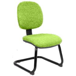 Luna Visitor Chair Cantilever Swizzle Colour Without Arms Ref KCUP0370