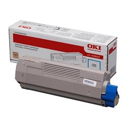 OKI High Capacity Cyan Toner Cartridge (Yield 11,500 Pages) for MC770/MC780 Multi Function Printers