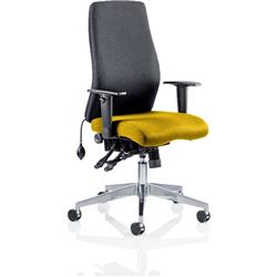 Onyx Posture Chair Without Sunrise Headrest Bespoke Colour Seat With Arms Ref KCUP0429