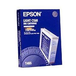 Epson T465 Light Cyan Ink Cartridge for Stylus Pro 7000/7000S