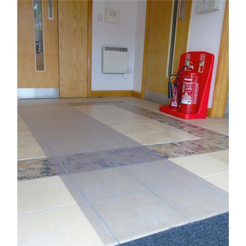 Foto Passatoia in vinile Floortex - per pavimenti - 70x180 cm - R12276EV Tappeti protettivi