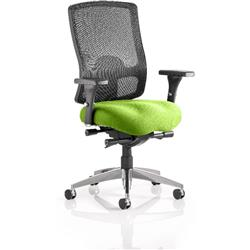 Regent Task Operator Chair Swizzle Colour Seat With Arms Ref KCUP0498