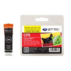 Jet Tec Canon Compatible PGI-5 (26ml) Remanufactured Inkjet Cartridge