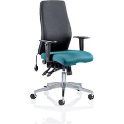 Onyx Posture Chair Without Aqua Headrest Bespoke Colour Seat With Arms Ref KCUP0431