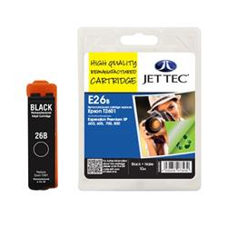 Jet Tec Epson Compatible T2601 (10ml) Remanufactured Inkjet Cartridge