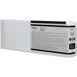 Epson T6361 Ink Cartridge - 700ml (Photo Black) for Epson Stylus Pro 7900/9900
