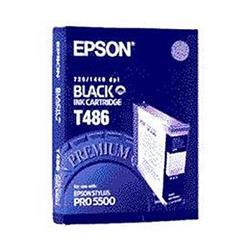 Epson Inkjet Cartridge Black [for Stylus color Pro 5000 5500] Ref C13T486011
