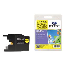 Jet Tec Brother Compatible LC1220Y (5.5ml) Remanufactured Inkjet Cartridge