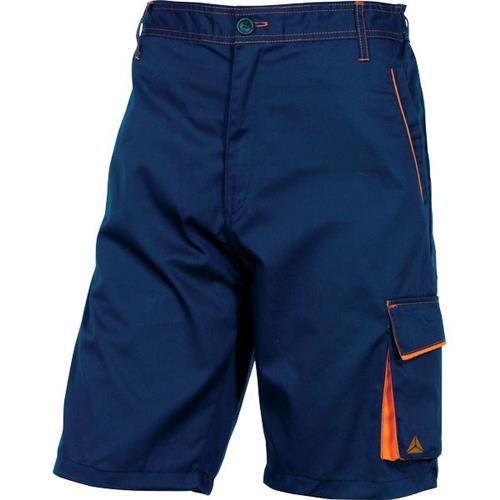 Foto Bermuda da lavoro Delta Plus - blu/arancione - L - M6BERBMGT Pantaloni
