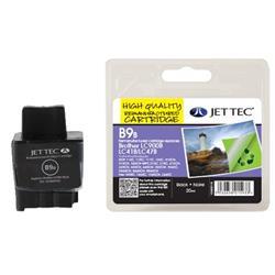 Jet Tec Brother Compatible LC900BK (20ml) Remanufactured Inkjet Cartridge