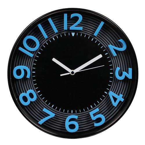 Foto Orologio da parete 3D Methodo - 30,3 - blu/nero - V150010 Orologi da parete
