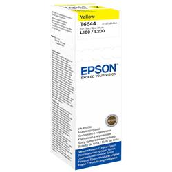 Epson T6644 Yellow Ink Bottle (70ml) for L-Series Ink Tank
