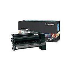Lexmark C7720KX Extra High Yield Return Program Black Print Cartridge for C772 Ref 00C7720KX