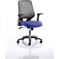 Relay Task Operator Chair Serene Colour Silver Back With Arms Ref KCUP0515