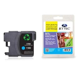 Jet Tec Brother Compatible LC1100C (5.5ml) Remanufactured Inkjet Cartridge