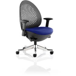 Revo Task Operator Chair Serene Colour Seat With Arms Ref KCUP0715