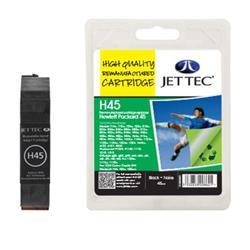 Jet Tec HP Compatible HP45 (45ml) Remanufactured Inkjet Cartridge