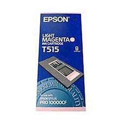 Epson T515 Light Magenta Pigment Ink Cartridge for Por 10000CF
