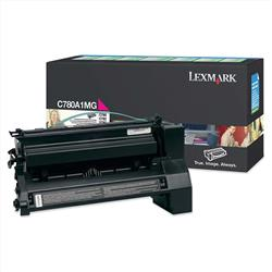 Lexmark C780/C782 Magenta Return Program Toner Cartridge Ref 0C780A1MG
