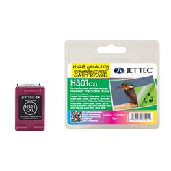 Jet Tec HP Compatible HP301XL/CH564EE (3x6ml) Remanufactured Colour Inkjet Cartridge