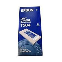 Epson T504 Light Cyan Ink Cartridge