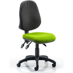 Eclipse III Task Operator Chair Swizzle Colour Seat Without Arms Ref KCUP0266