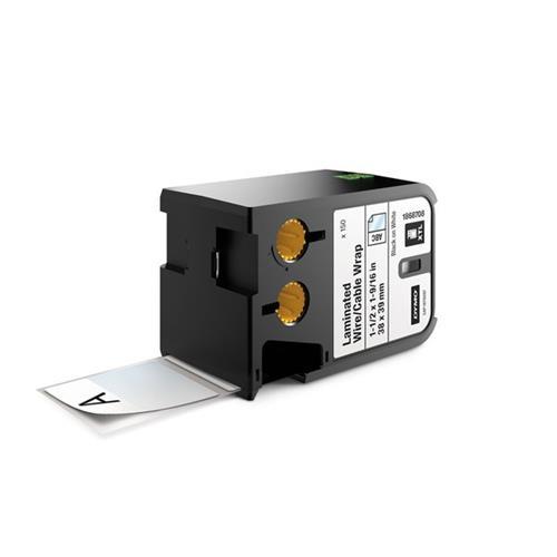 Foto etichette XTL 38x39 mm Dymo - nero/bianco - 1868708 Etichette e Nastri