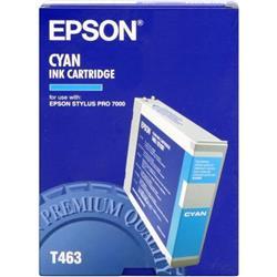 Epson T463 Cyan Ink Cartridge for Stylus Pro  7000/7000S