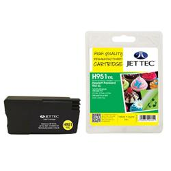 Jet Tec HP Compatible HP950XL/CN048AE (24ml) Remanufactured Inkjet Cartridge
