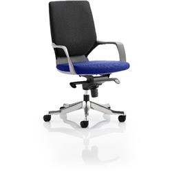 Xenon Executive Chair Black Medium Back Serene Colour Seat With Arms Ref KCUP0635