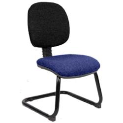 Luna Visitor Chair Cantilever  Marine Seat Without Arms Ref KCUP0379