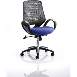 Sprint Task Operator Chair Serene Colour Silver Back With Arms Ref KCUP0571