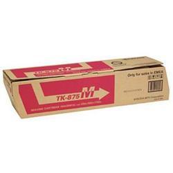 Kyocera Laser Toner Cartridge Page Life 31800pp Magenta Ref TK-875M