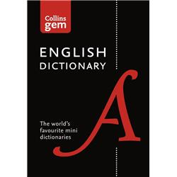 Harper Collins Gem English Dictionary 39000 References in Vinyl Cover Ref 9780007456239