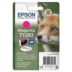 Epson T1283 Inkjet Cartridge DURABrite Fox Capacity 3.5ml Magenta Ref C13T12834012