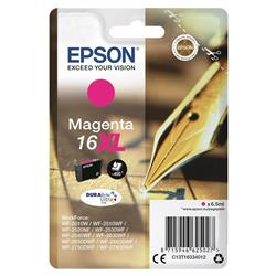 Epson 16XL Inkjet Cartridge Pen & Crossword Page Life 450pp Magenta Ref C13T16334012