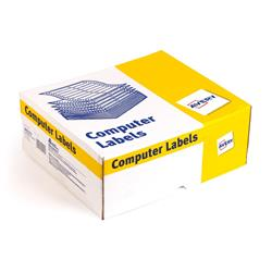 Avery 6423 One Wide on Web Dot Matrix Computer Labels 102x37mm Ref 6423/1 - 10000 Labels