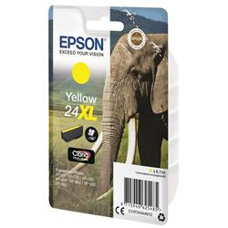 Epson 24XL Inkjet Cartridge Capacity 8.7ml Page Life 740pp Yellow Ref C13T24344012