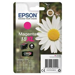 Epson 18XL Inkjet Cartridge Daisy High Capacity 6.6ml 450pp Magenta Ref C13T18134012