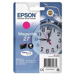 Epson 27 Alarm Clock Inkjet Cartridge Magenta Ref C13T27034010