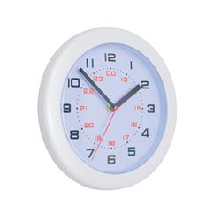 Controller Wall Clock with 24 Hour Dial Diameter 250mm White