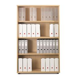 Sonix Bookcase Tall Three Shelves Acer Maple - w9873m - w9873m