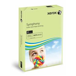 Xerox Symphony Pastel Green A3 297X420mm 80Gm2 PEFC2 Ref 003R91955 [Pack 2500]